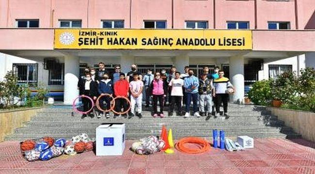 1500 okula spor desteği