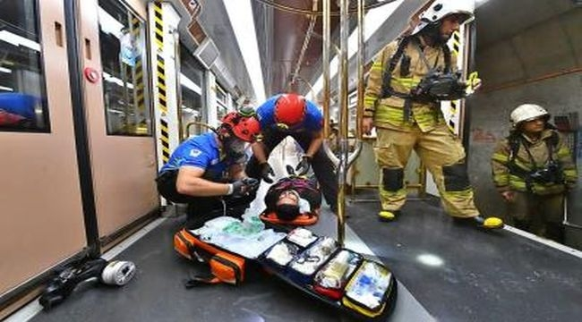 Metroda operasyon