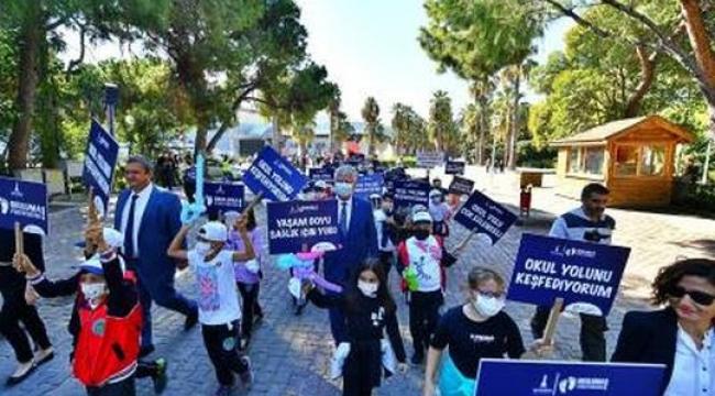 ''Uluslararası Okula Yürüyüş Günü'' etkinliği